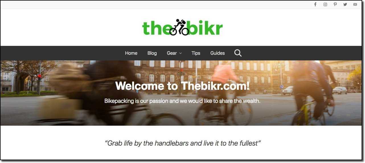 thebikr-website