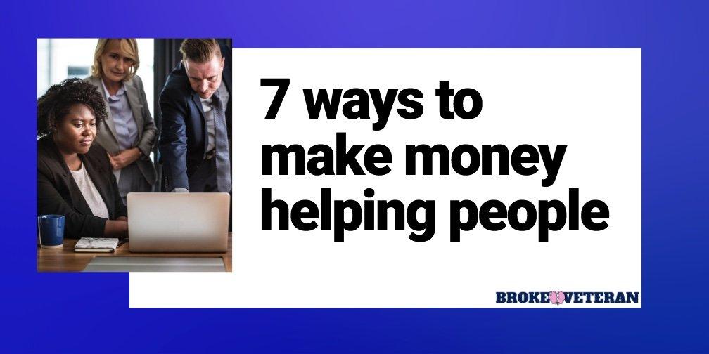 make-money-helping-people