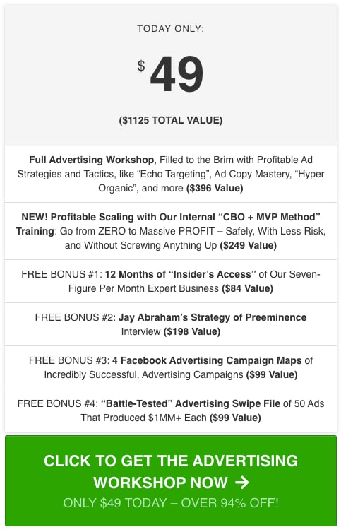 traffic-and-funnels-price